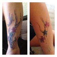 Photo taken at Yasin ALICI Tattoo ART Studio by Yasin Alıcı on 8/17/2013
