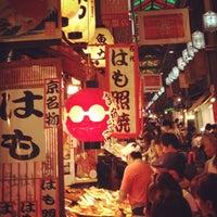 Photo taken at Nishiki Market by Satoshi K. on 9/23/2012