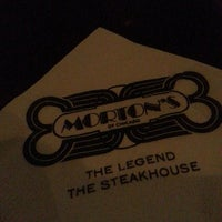 Photo taken at Morton's The Steakhouse by Jill K. on 4/19/2013
