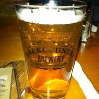 Photo taken at Backcountry Brewery by Christie E. on 1/20/2013