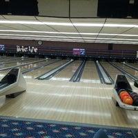 Photo taken at Strikers Lanes by John K. on 10/28/2012