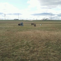 Photo taken at Airport Dog Park by Yvette B. on 9/22/2012