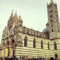 Photo taken at Duomo di Siena by Francesca on 4/29/2013