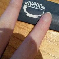 Photo taken at Kiyadon Sushi by Stevie E. on 4/5/2014