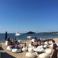 Photo taken at Navy Beach Restaurant by Vanessa V. on 8/24/2014