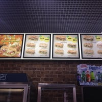 Photo taken at SUBWAY by Лилия М. on 11/21/2013