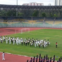 Photo taken at Stadium KLFA Cheras by Jessica A. on 12/15/2012