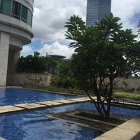 Photo taken at Swimming Pool Denpasar Residences by Pavel K. on 2/16/2018