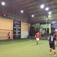 Photo taken at Kuningan Village Futsal & Food Park by Pavel K. on 10/6/2016