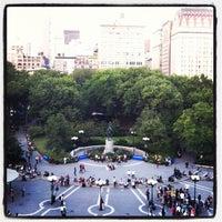 9/25/2012 tarihinde Wiafe M.ziyaretçi tarafından Union Square Park'de çekilen fotoğraf