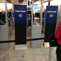 Photo taken at Security/Passport Control - T4 by A.A on 5/3/2013