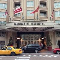 Photo taken at Mandarin Oriental, Washington DC by J.J on 1/17/2013
