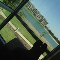 Photo taken at Carrollton Public Library - Josey Ranch Lake by John on 10/1/2012
