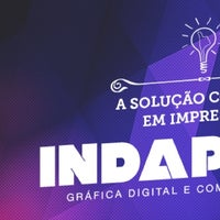 Photo taken at IndaPrint Gráfica Digital e Comunicação Visual by Lucas S. on 8/19/2014
