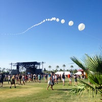 Photo taken at Coachella Main Stage by Camille R. on 4/11/2015