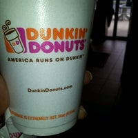 Photo taken at Dunkin' Donuts by Fred B. on 10/24/2012
