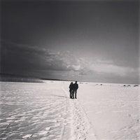 Photo taken at Пляж Черная Речка by Tony M. on 3/31/2013