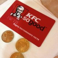 Photo taken at KFC by Ksenia on 10/11/2012