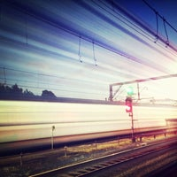 Photo taken at Redfern Station (Concourse) by Ross K. on 6/7/2013
