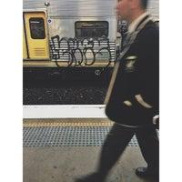 Photo taken at Strathfield Station (Platforms 7 & 8) by Ross K. on 7/14/2013