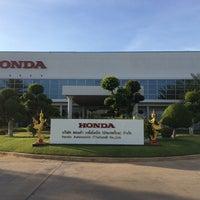Photo taken at Honda Automobile (Thailand) Co.,Ltd. by Juntaek L. on 5/15/2014