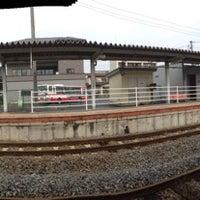 Photo taken at Kanomata Station by ruushu on 11/4/2013