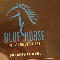 Photo taken at Blue Horse Restaurant & Bar by Bill on 7/15/2013