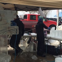 Photo taken at St. Joseph Magical Ice Carving Festival by Bill on 2/7/2015
