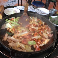 Photo taken at 5.5 닭갈비 막국수 전문점 by Alfred L. on 3/24/2018