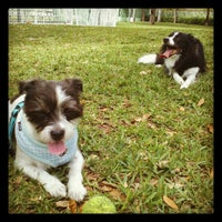 Photo taken at Waterways Dog Park by Stephanie on 2/19/2013