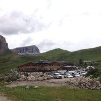Photo taken at Rifugio Passo Sella by Alessandro C. on 8/16/2014