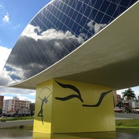 Photo taken at Museu Oscar Niemeyer (MON) by Bruno S. on 7/7/2013