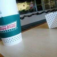 Photo taken at Krispy Kreme Doughnuts by Chadwick on 11/24/2012