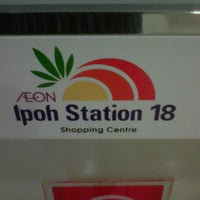 Photo taken at AEON Ipoh Station 18 Shopping Centre by Zairol a. on 9/16/2012