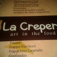 Photo taken at La Crepería by Diego S. on 2/20/2013