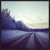 Photo taken at Пушкинские Горы by Olya on 1/26/2013
