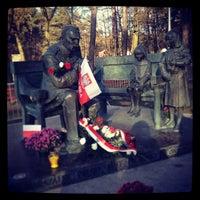 Photo taken at Dworek Marszalka Pilsudskiego by Aleks A. on 11/11/2013