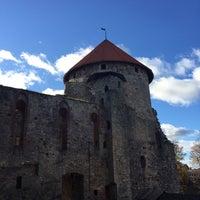 Photo taken at Cēsu pils. by Eva on 10/24/2015