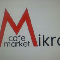 Photo taken at Mikro Market&Cafe by Hasan on 4/13/2013