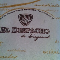 Photo taken at El Despacho de Diagonal by Anita on 7/8/2013