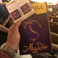 Foto tomada en Aladdin @ New Amsterdam Theatre por Liz A. el 3/31/2018