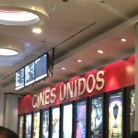 Photo taken at Cines Unidos by Kellys on 7/24/2013