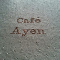Photo taken at Café Ayen by Pedro S. on 11/3/2012