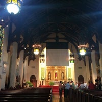 Photo taken at Holy Family Catholic Church by Lailanie G. on 5/23/2016