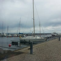 Photo taken at Hamnen Hjo by Irina C. on 5/3/2014