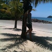Photo taken at Praia Preta by Fábio on 2/1/2013