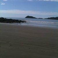 Photo taken at Praia Preta by Fábio on 1/31/2013