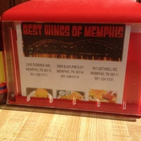Photo taken at Best Wings of Memphis by Erica on 1/11/2014