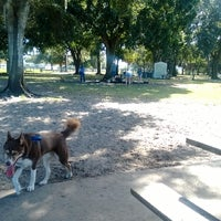 Photo taken at West Dog Park by Chris on 11/23/2013
