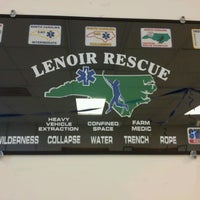 Photo taken at Lenoir Rescue Squad Building by Rose T. on 6/15/2013